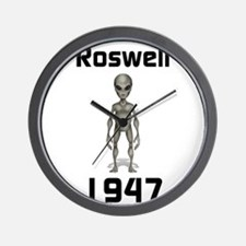 Rosweel 1947 Wall Clock