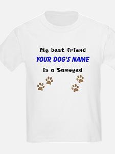 Custom Samoyed Best Friend T-Shirt