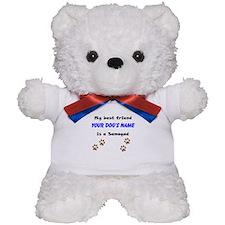 Custom Samoyed Best Friend Teddy Bear