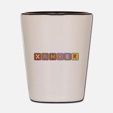 Xander Foam Squares Shot Glass