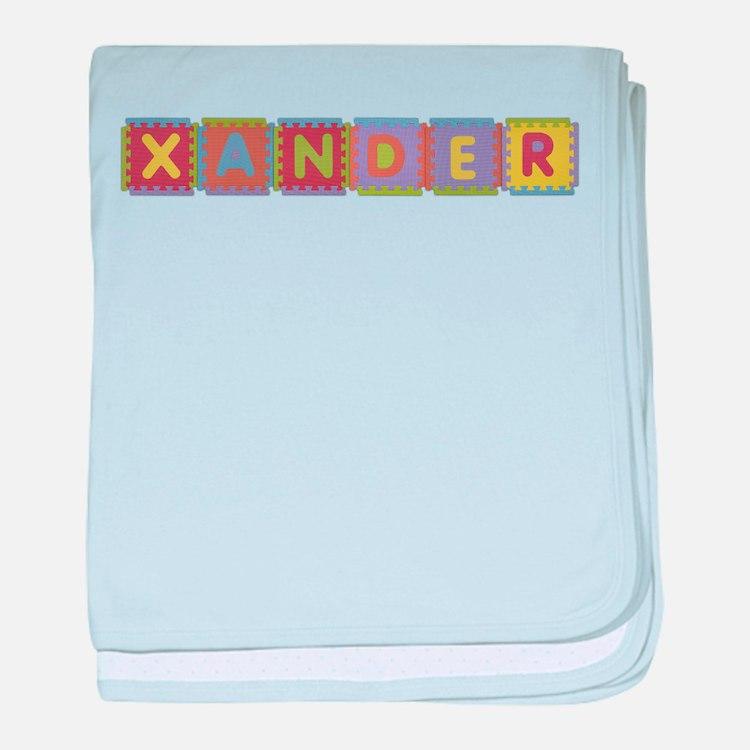 Xander Foam Squares baby blanket