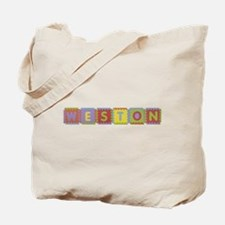 Weston Foam Squares Tote Bag