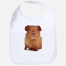 guinea pig face Bib