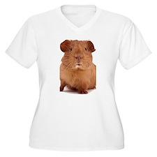 guinea pig face Plus Size T-Shirt