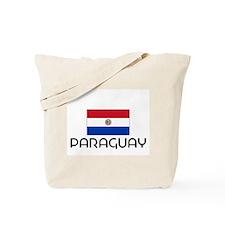 I HEART PARAGUAY FLAG Tote Bag