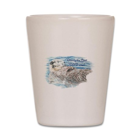 Otterly Best Dad ever quote Humorous Cute Otter A
