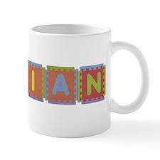 Vivian Foam Squares Mug