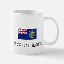 I HEART PITCAIRN ISLAND FLAG Mug