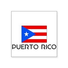 I HEART PUERTO RICO FLAG Sticker