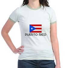 I HEART PUERTO RICO FLAG T-Shirt