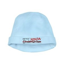 Job Ninja Underwriter baby hat