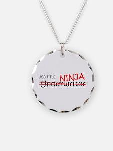 Job Ninja Underwriter Necklace