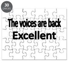 THE VOICES ARE BACK. EXCELLENT Puzzle