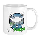 Yakhappy Blue Mugs