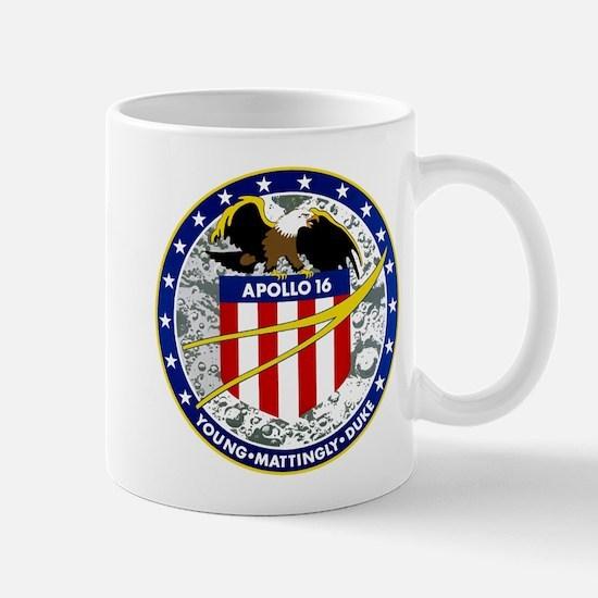 Apollo 16 Logo Mug