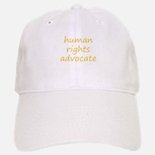 human rights advocate Baseball Baseball Cap