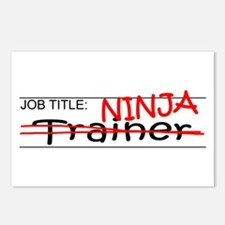 Job Ninja Trainer Postcards (Package of 8)