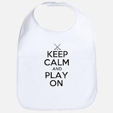 Keep Calm and Play On - Field Hockey Bib