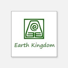Earth Kingdom Symbol Sticker