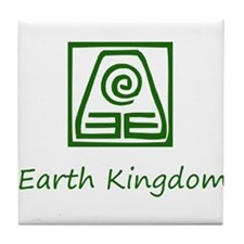 Earth Kingdom Symbol Tile Coaster