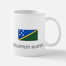I HEART SOLOMON ISLANDS FLAG Mug