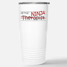 Job Ninja Therapist Travel Mug