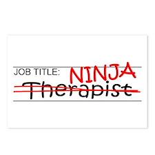 Job Ninja Therapist Postcards (Package of 8)