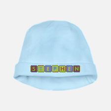 Stephen Foam Squares baby hat