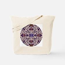 Art Nouveau (purple/ivory) Tote Bag