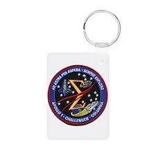 Space Flight Memorial Keychains