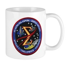 Space Flight Memorial Mug