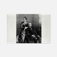 The President and Mrs. Hayes - 1880 Magnets