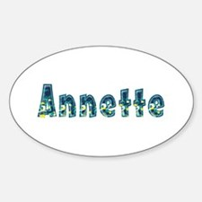 Annette Under Sea Oval Decal