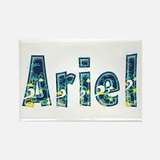 Ariel Under Sea Rectangle Magnet