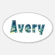 Avery Under Sea Oval Decal