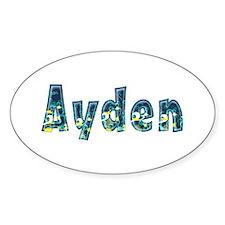 Ayden Under Sea Oval Decal