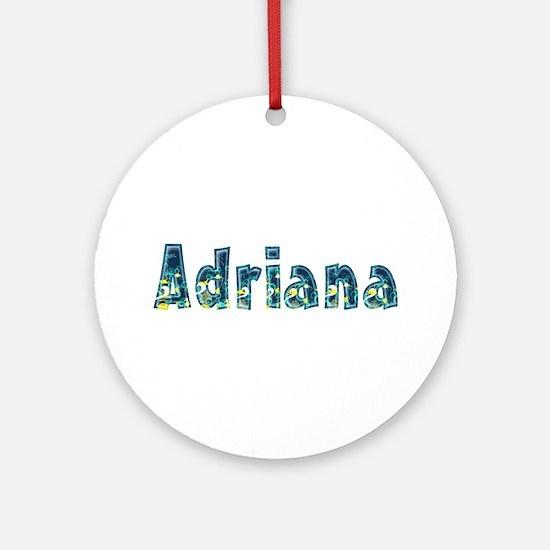 Adriana Under Sea Round Ornament