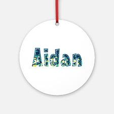 Aidan Under Sea Round Ornament