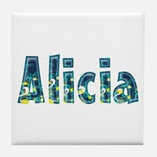 Alicia Under Sea Tile Coaster