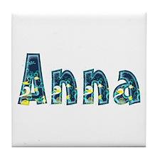 Anna Under Sea Tile Coaster