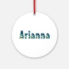 Arianna Under Sea Round Ornament
