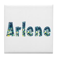 Arlene Under Sea Tile Coaster