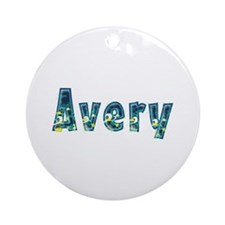 Avery Under Sea Round Ornament