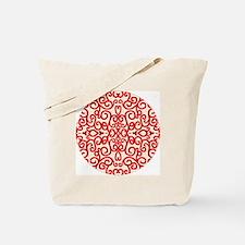 Art Nouveau (black/red) Tote Bag