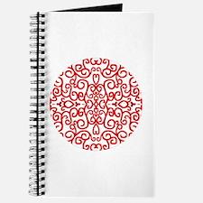 Art Nouveau (black/red) Journal