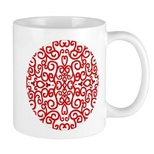 Art Nouveau (black/red) Mug