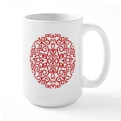 Art Nouveau (black/red) Mug