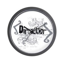 Grunge Director Wall Clock