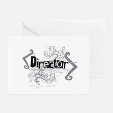 Grunge Director Greeting Cards (Pk of 10)