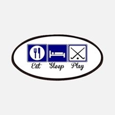 Eat, Sleep, Play - Field Hockey Patches